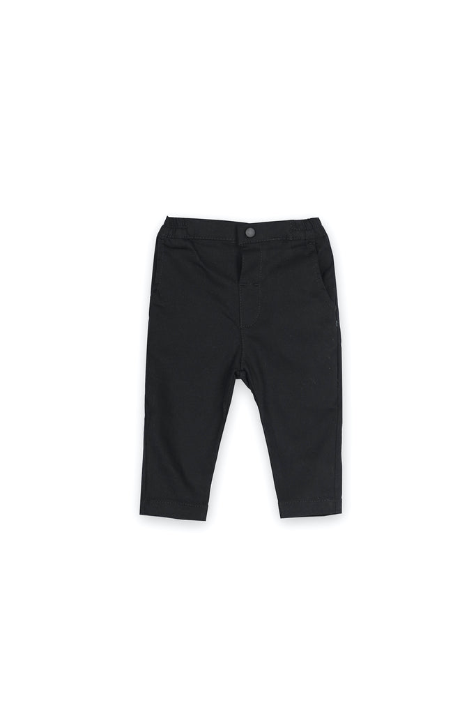 The Langit Babies Slim Pants - Black