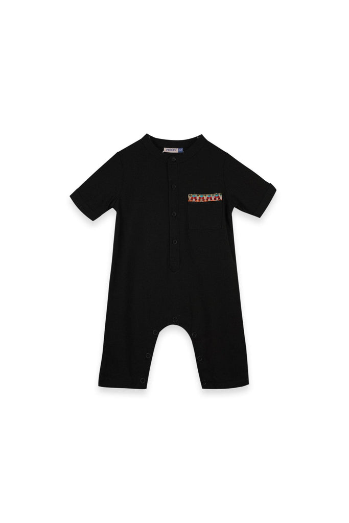 The Oasis Babies Jumpsuit - Black