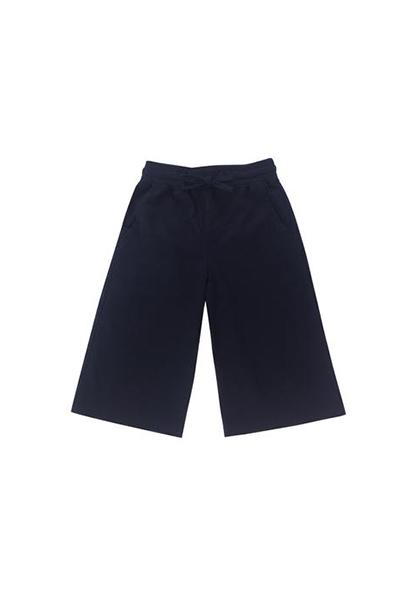 The Padi Unisex Cotton Pants with Pockets - Dark Blue