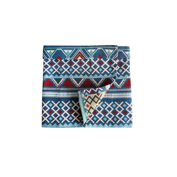 The PULANG Instant Samping - Blueish Tribal