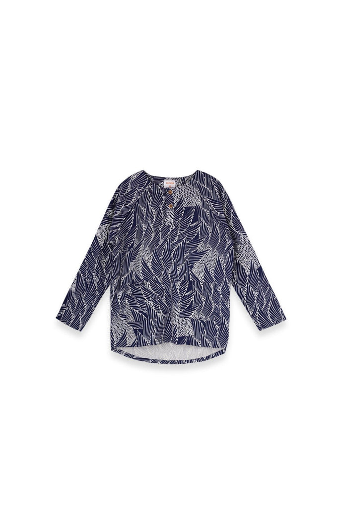 The Langit Women Raglan Sleeve Blouse - Borneo
