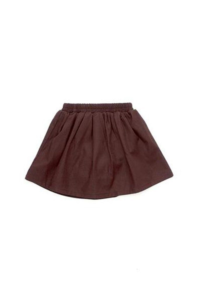 The Cerita Baby Skirt - Walnut Brown