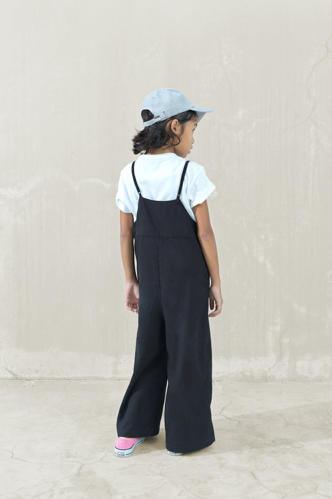 The Joy Dungarees - Black