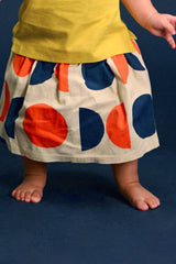 The Pelangi Babies Skirt - Chatters Print