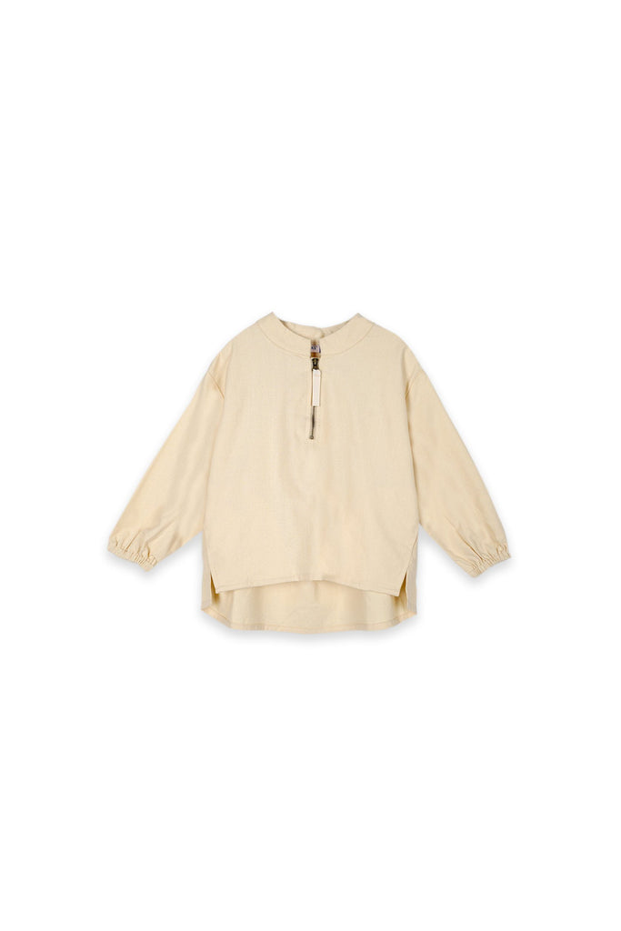 The Oasis Pilot Blouse - Cream