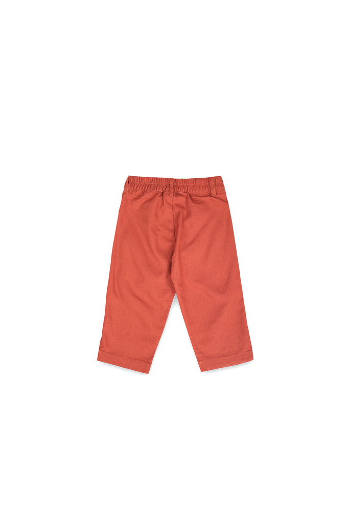 The Langit Tapered Pants - Terracotta