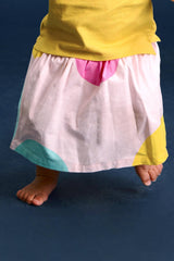 The Pelangi Babies Skirt - Dancers Print