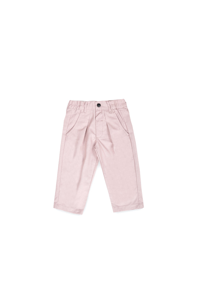 The Langit Tapered Pants - Dusty Pink