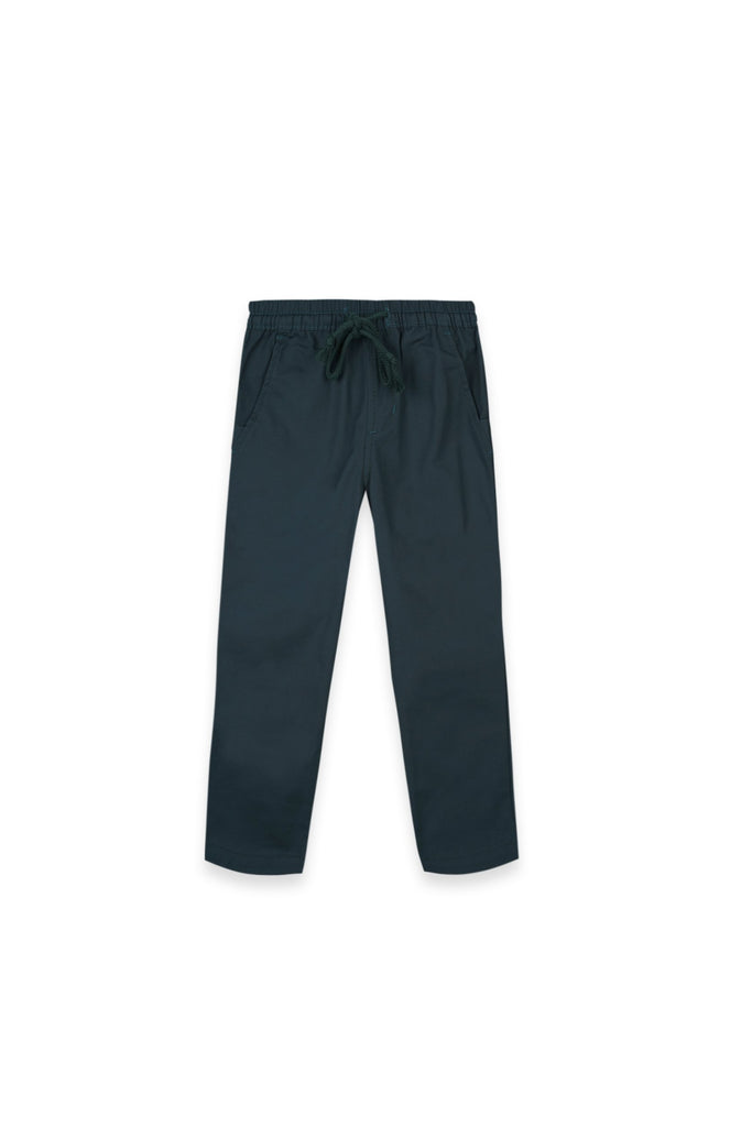 The Oasis Slim Pants - Emerald Green