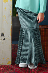 The Cerita Mermaid Skirt - Emerald Green