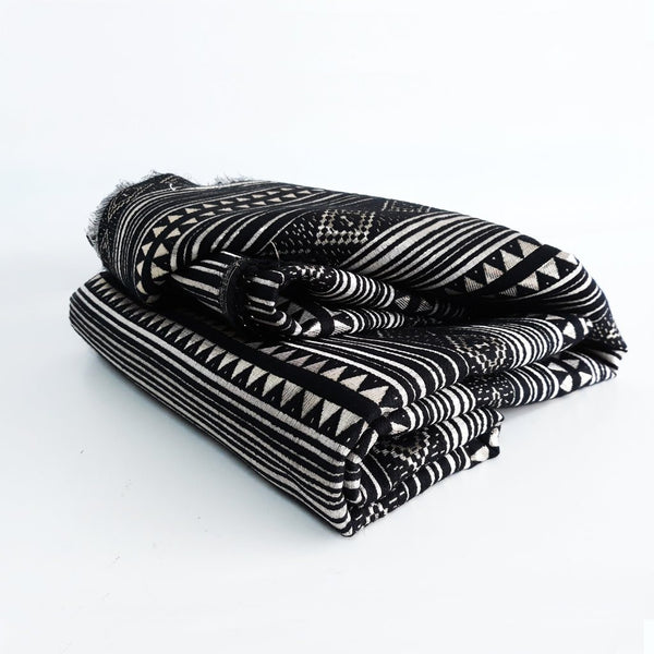 The Pulang Fabric - Glamour Black