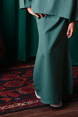 The TALI Mermaid Skirt - Emerald Green