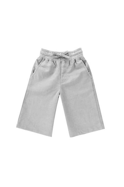 The Padi Unisex Linen Pants with Pockets - Grey