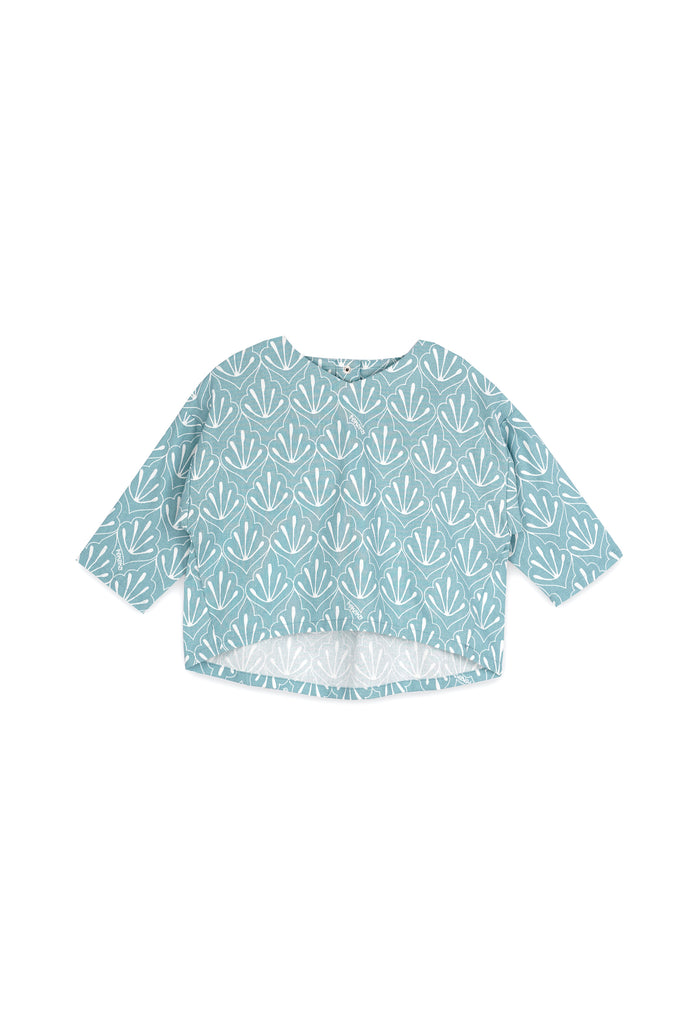 The Langit Origami Blouse - Petani