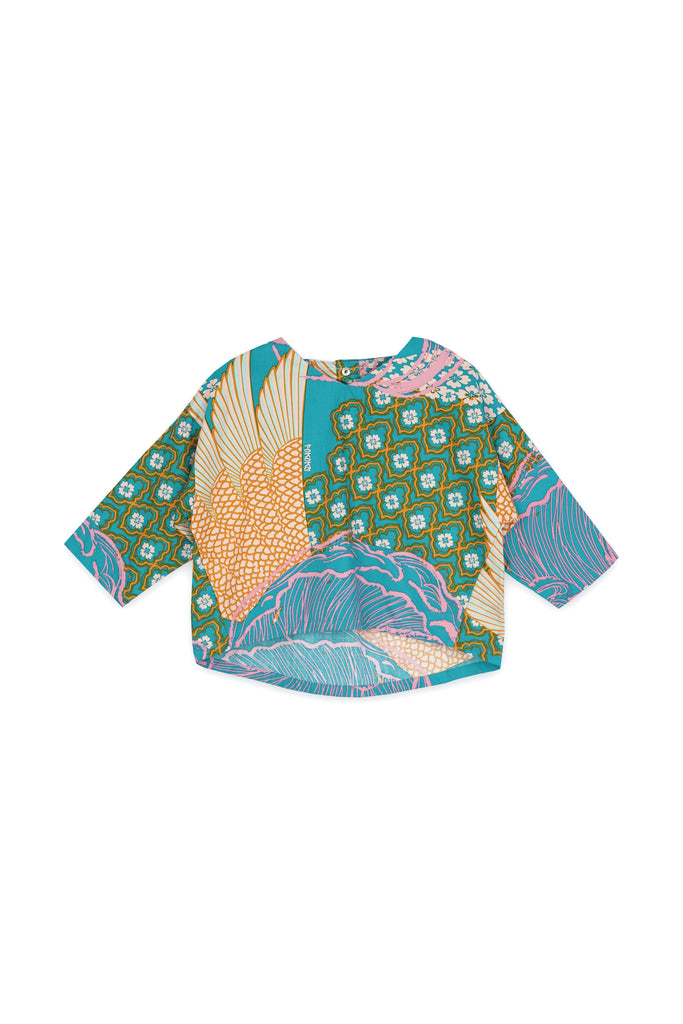 The Langit Origami Blouse - Tanjung