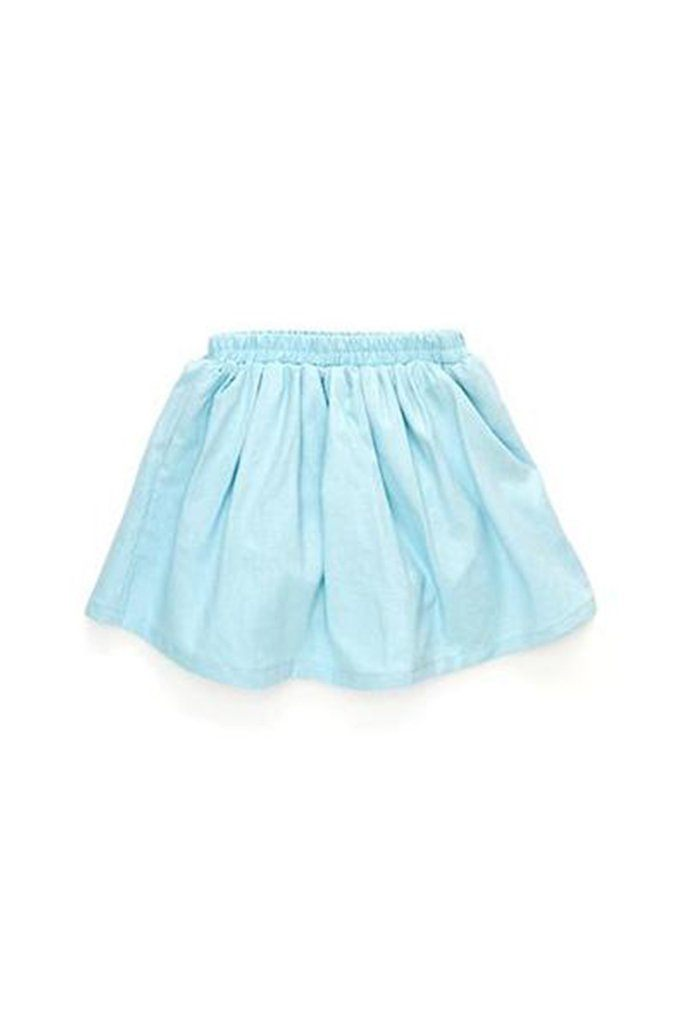 The Cerita Baby Skirt - Light Blue