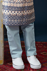 The Cerita Tapered Pants - Light Blue
