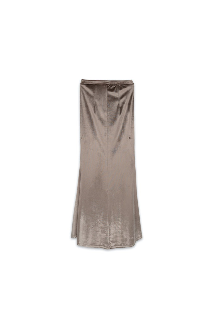 The Nari Women Mermaid Skirt - Nude