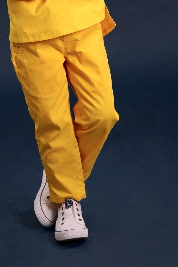 The Pelangi Tapered Pants - Yellow