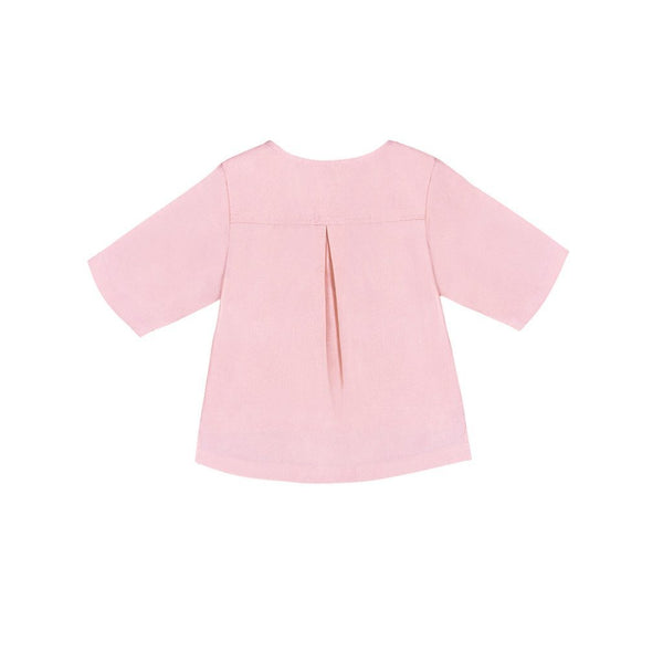 The Serai Ethnic Pair Pockets Shirt - Pink