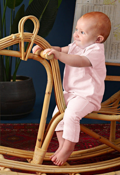 The Cerita Babies Jumpsuit - Light Pink