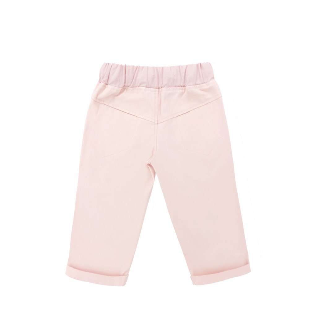 The WAU Cotton Tapered Pants - Pale Pink