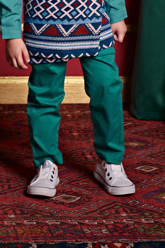 The PULANG Slim Pants - Jade Green