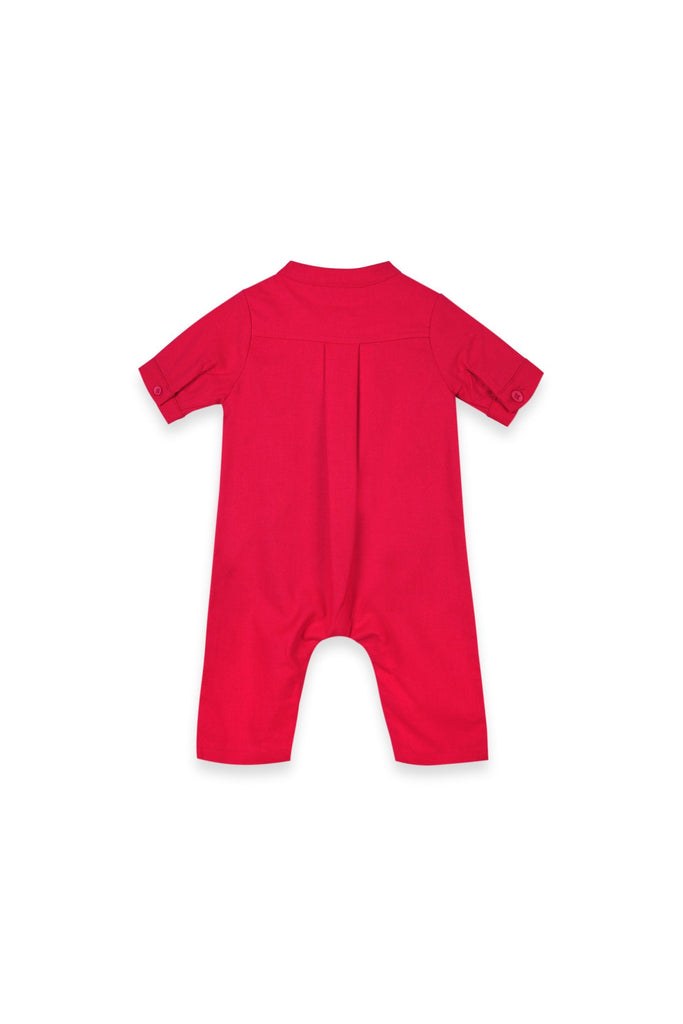 The Oasis Babies Jumpsuit - Red