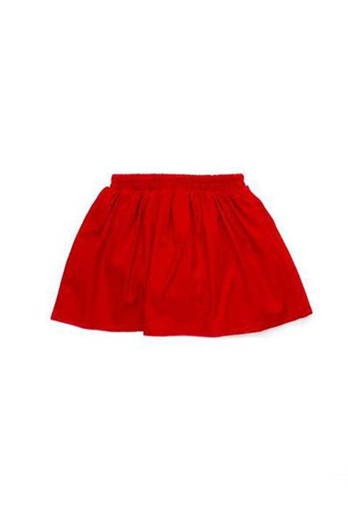 The Cerita Baby Skirt - Crimson