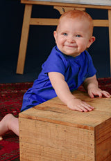 The Cerita Babies Jumpsuit - Royal Blue