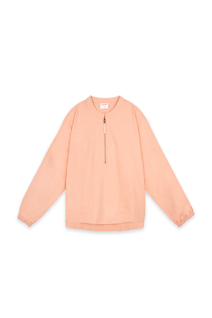 The Oasis Women Pilot Blouse - Salmon