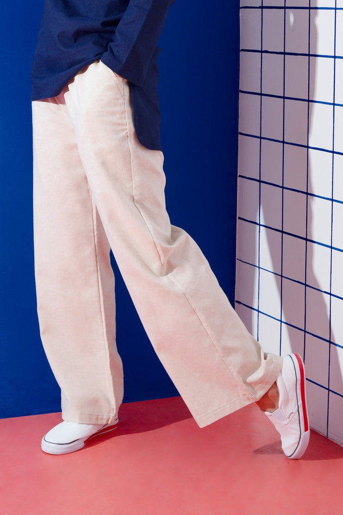 The KITA Easy Pants - Natural Linen