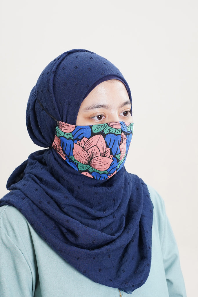 The Mekar Face Mask - Secret Pond Print