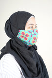 The Mekar Face Mask - Spring Garden Print