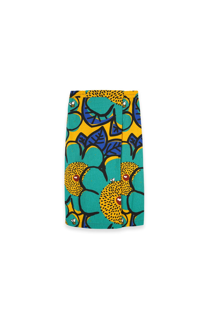 The Oasis Folded Skirt - Sunshine