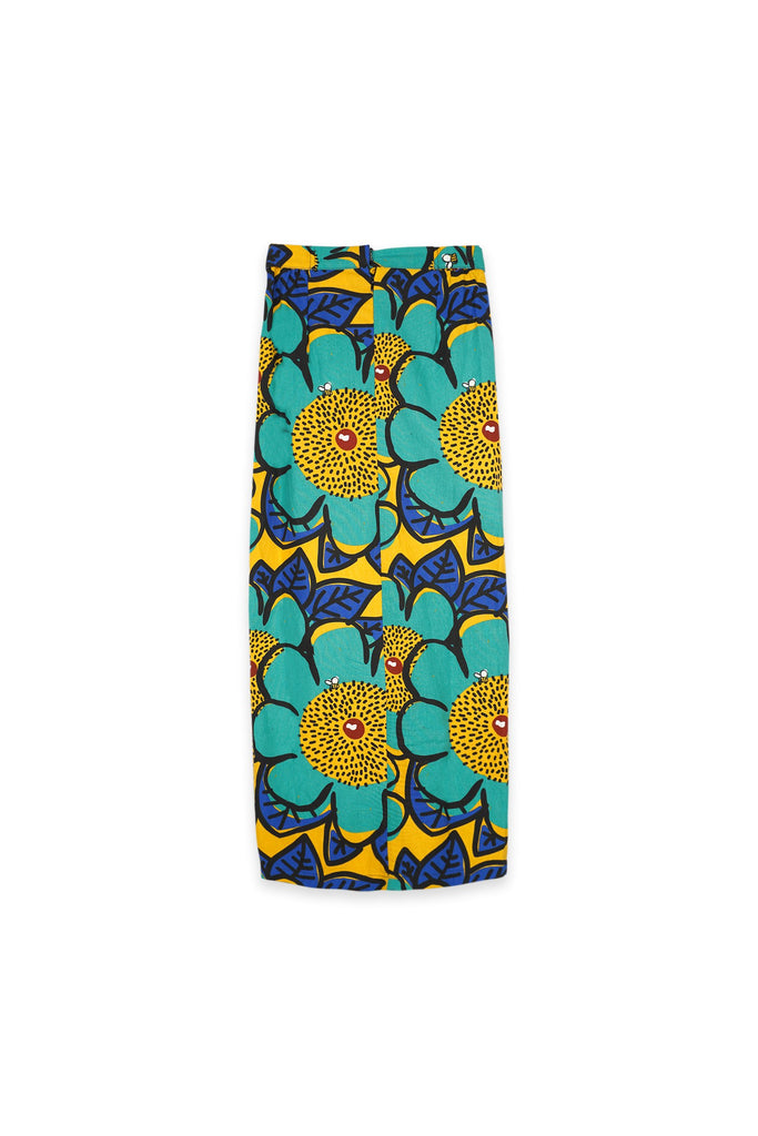 The Oasis Women Belted Skirt - Sunshine