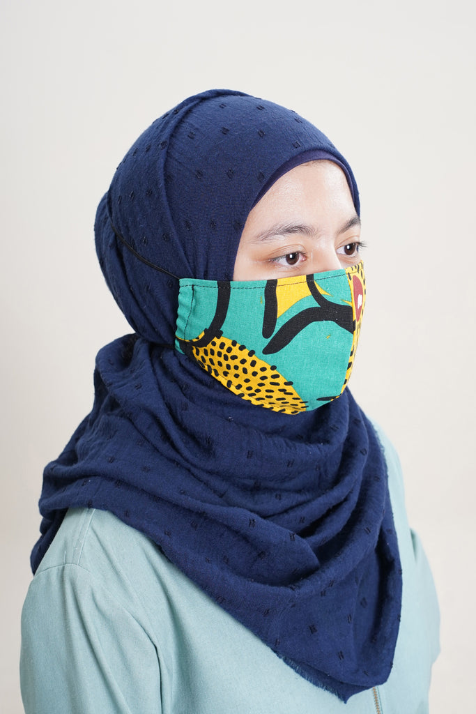 The Mekar Face Mask - Sunshine Print