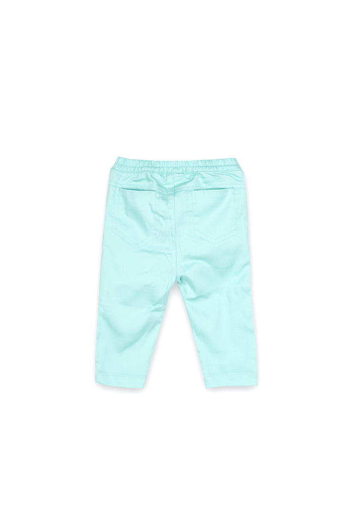 The Langit Babies Slim Pants - Tiffany