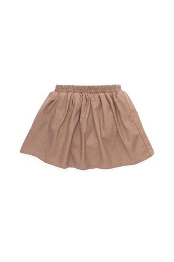 The Cerita Baby Skirt - Dark Tortilla Brown