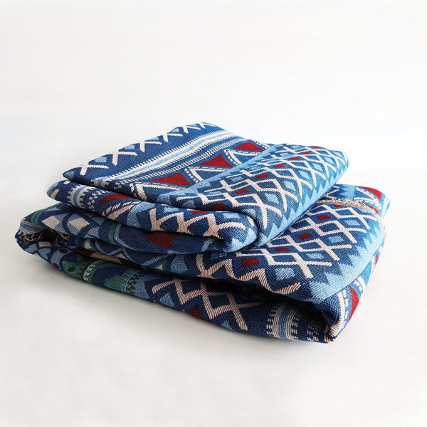 The Pulang Fabric - Blueish Tribal