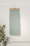 Rasa Sayang Scallop Skirt - Vegan Green
