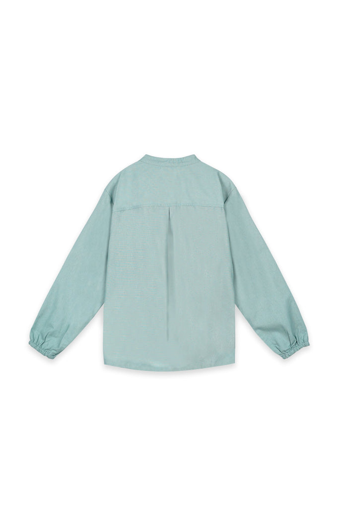 The Oasis Women Pilot Blouse - Vegan Green