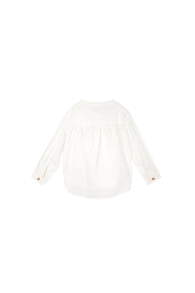 The Oasis Blooming Blouse - White