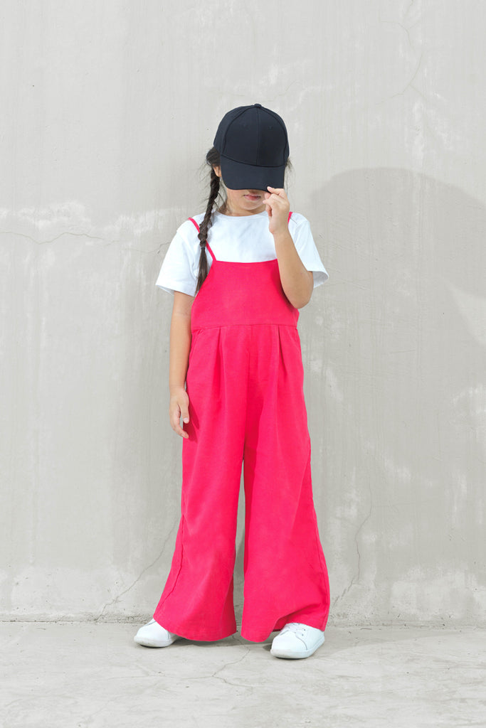 The Joy Dungarees - Red