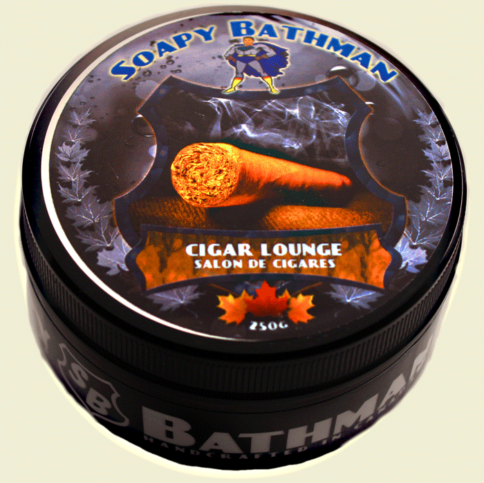 Cigar Lounge Shea Shave Soap