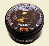 handmade black magic shave soap