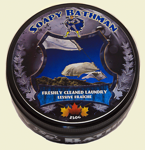 Freshly Cleaned Laundry Shave Soap