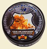 Cedar and Sandalwood Shea Shave Soap
