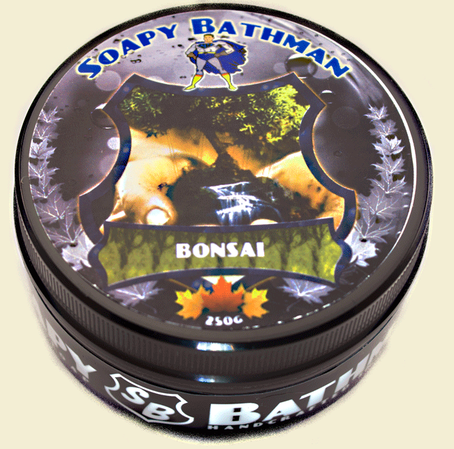 Bonsai!! Shea Shave Soap
