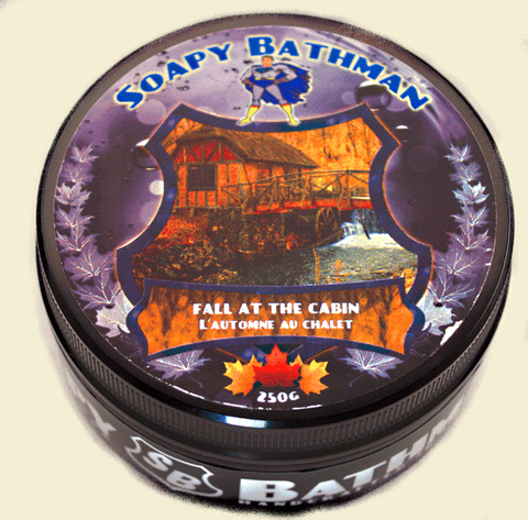 Fall at the Cabin Shea Shave Soap